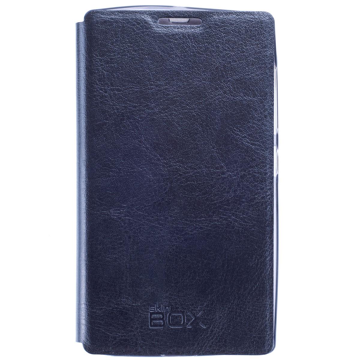 Skinbox Lux чехол для Microsoft Lumia 532, BlackT-S-ML532-003Чехол Skinbox Lux выполнен из высококачественного поликарбоната и экокожи. Он обеспечивает надежную защиту корпуса и экрана смартфона и надолго сохраняет его привлекательный внешний вид. Чехол также обеспечивает свободный доступ ко всем разъемам и клавишам устройства.