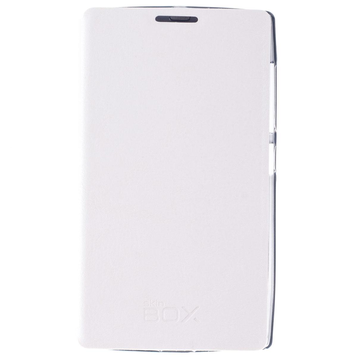 Skinbox Lux чехол для Microsoft Lumia 532, WhiteT-S-ML532-003Чехол Skinbox Lux выполнен из высококачественного поликарбоната и экокожи. Он обеспечивает надежную защиту корпуса и экрана смартфона и надолго сохраняет его привлекательный внешний вид. Чехол также обеспечивает свободный доступ ко всем разъемам и клавишам устройства.