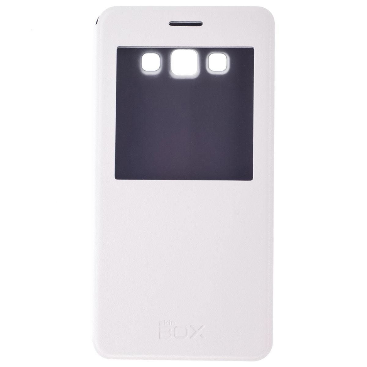 Skinbox Lux AW чехол для Samsung Galaxy A7, WhiteT-S-SA700-004Чехол Skinbox Lux AW выполнен из высококачественного поликарбоната и экокожи. Он обеспечивает надежную защиту корпуса и экрана смартфона и надолго сохраняет его привлекательный внешний вид. Чехол также обеспечивает свободный доступ ко всем разъемам и клавишам устройства.