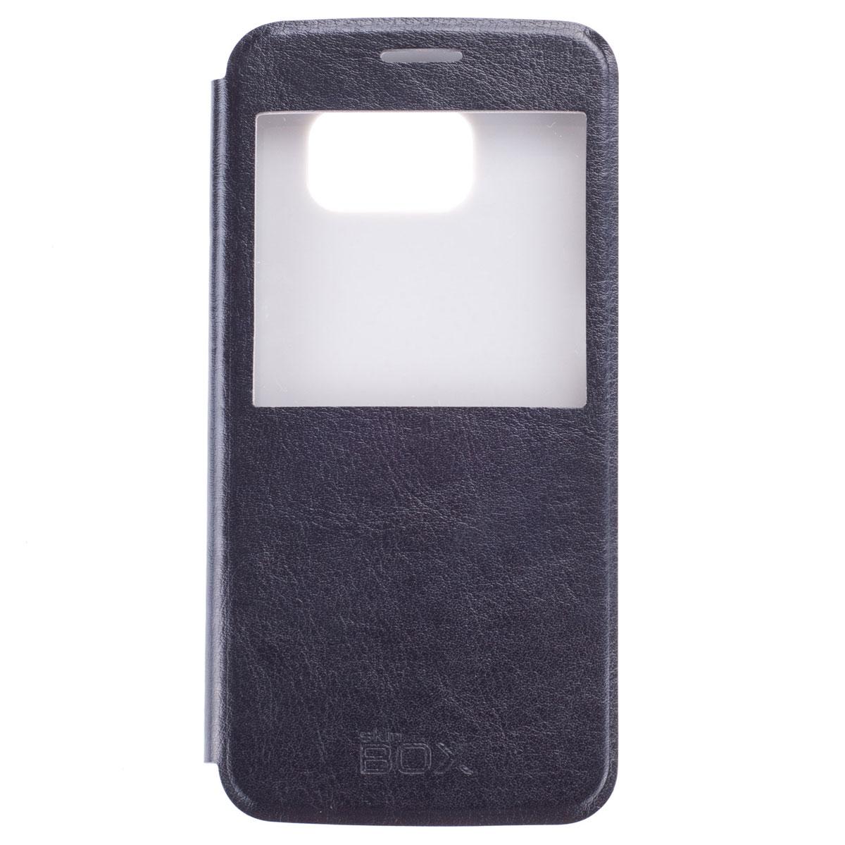 Skinbox Lux AW чехол для Samsung Galaxy S6, BlackT-S-SGS6-004Чехол Skinbox Lux AW выполнен из высококачественного поликарбоната и экокожи. Он обеспечивает надежную защиту корпуса и экрана смартфона и надолго сохраняет его привлекательный внешний вид. Чехол также обеспечивает свободный доступ ко всем разъемам и клавишам устройства.