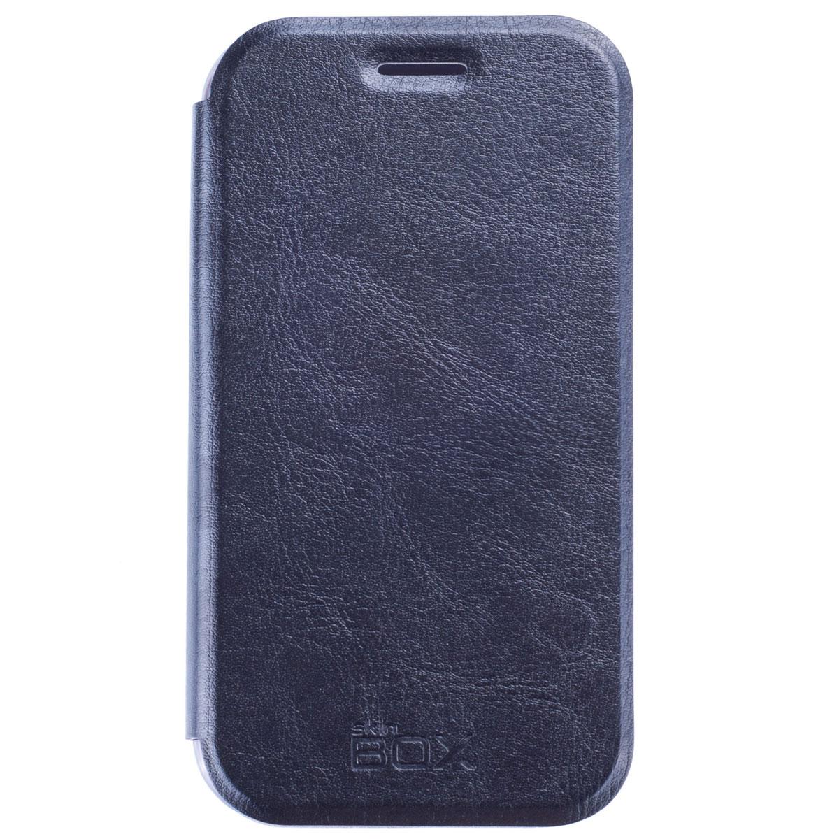Skinbox Lux чехол для Samsung Galaxy J1 DS, BlackT-S-SJ1-003Чехол Skinbox Lux выполнен из высококачественного поликарбоната и экокожи. Он обеспечивает надежную защиту корпуса и экрана смартфона и надолго сохраняет его привлекательный внешний вид. Чехол также обеспечивает свободный доступ ко всем разъемам и клавишам устройства.