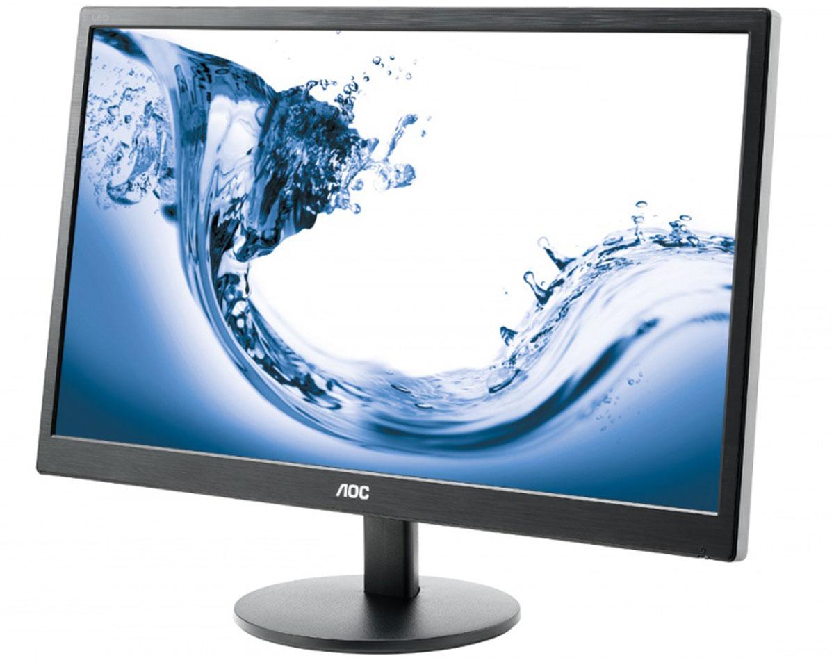 AOC E2770She/01, Glossy Black монитор