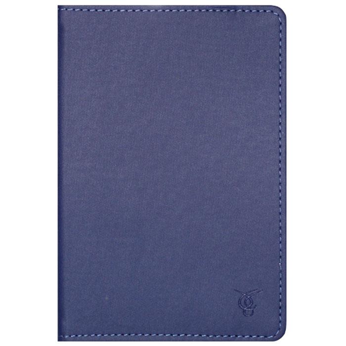 Vivacase Laconic чехол для планшетов 7, Blue (VUC-CLC07-blue)VUC-CLC07-blueVivacase Laconic - это тонкий универсальный чехол для планшетов и электронных книг с диагональю дисплея 7 дюймов. Он изготовлен из высококачественных синтетических материалов с водоотталкивающими свойствами. Внутри чехла - мягкая, приятная на ощупь подкладка и силиконовое крепление, которое прочно удерживает устройство, оставляя свободный доступ к экрану, а также кнопкам и разъемам.