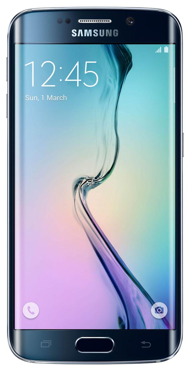 Zakazat.ru: Samsung SM-G925F Galaxy S6 Edge (128 GB), Black Sapphire