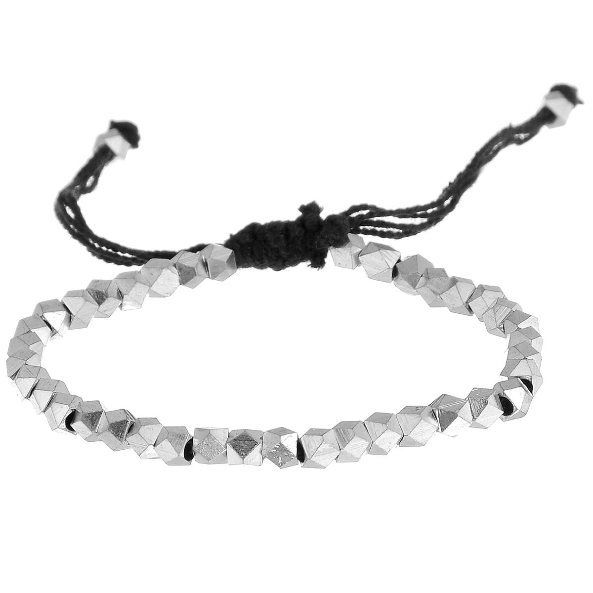 Браслет Ethnica, цвет: черный, серебряный. 042025_3 ( 042025_3 )