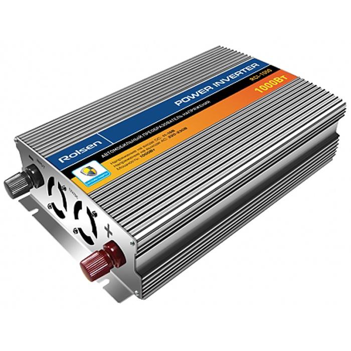 Rolsen RCI-1000 автомобильный преобразователь напряжения1-RLCA-RCI-1000Автомобильный преобразователь напряжения Rolsen RCI-1000 предназначен для подключения к бортовой электросети автомобиля (напряжение 12 В постоянного тока) бытовых электроприборов, рассчитанных на питание от электросети переменного тока напряжением 220 В частотой 50 Гц. Rolsen RCI-1000 подходит для использования с телевизорами, компьютерами, ноутбуками, видеоплеерами и видеоприставками, электроинструментами, вентиляторами и другими устройствами. При подключении инвертора напрямую к аккумулятору пиковая мощность нагрузки не должна превышать 1000 Вт. Выходное напряжение: переменный ток 220-230 В, 50-60 Гц Форма выходного сигнала: аппроксимированная синусоида Эффективность: не ниже 85% Защита от неисправности и неверной полярности