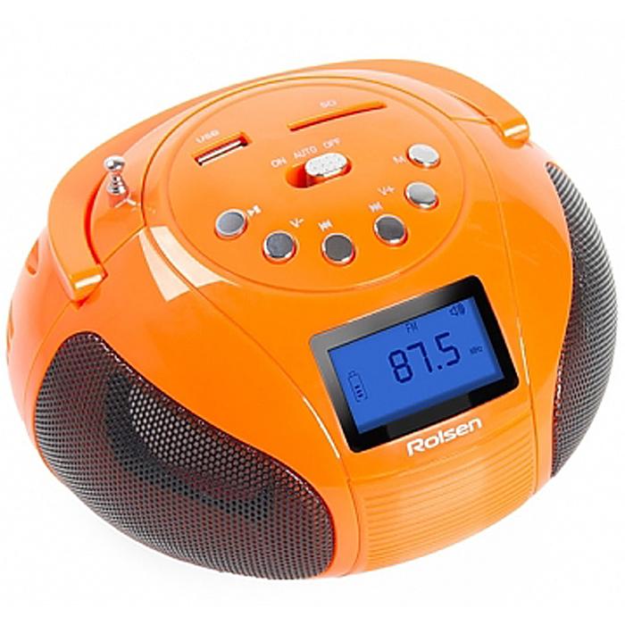 Rolsen RBM411, Orange аудиомагнитола