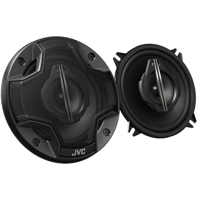 JVC CS-HX539 колонки автомобильныеCS-HX539Трехполосная 13-см коаксиальная акустическая система JVC CS-HX539. 13-мм диффузор из углеволокна с вкраплениями слюды 52-мм СЧ-громкоговоритель с диффузором из полиэфиримида 12-мм купольный ВЧ-громкоговоритель с диффузором из полиамида Ферритовый магнит (НЧ-громкоговоритель) Неодимовый магнит (среднечастотный диапазон) Резиновая окантовка