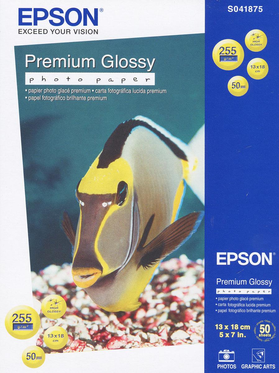 Epson Premium Glossy Photo 255/13x18/50л, глянцевая C13S041875C13S041875Яркость: 97% Прозрачность: 96%