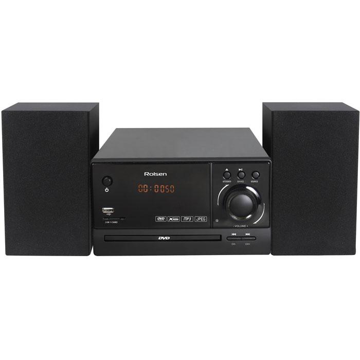 Rolsen RMD-200, Black микросистема DVD ( 1-RLDB-RMD-200 )
