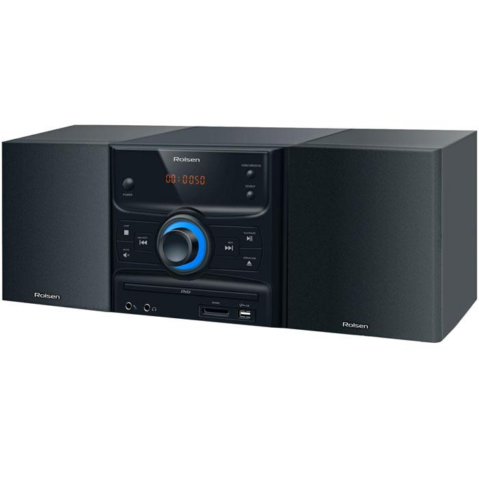 Rolsen RMD-300, Black микросистема DVD ( 1-RLDB-RMD-300 )