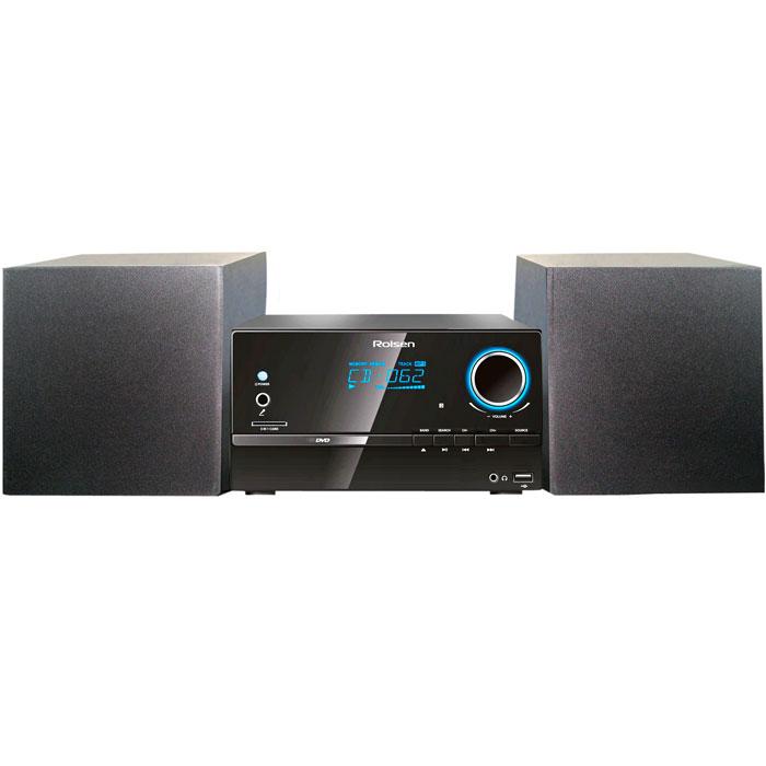Rolsen RMD-320, Black микросистема DVD