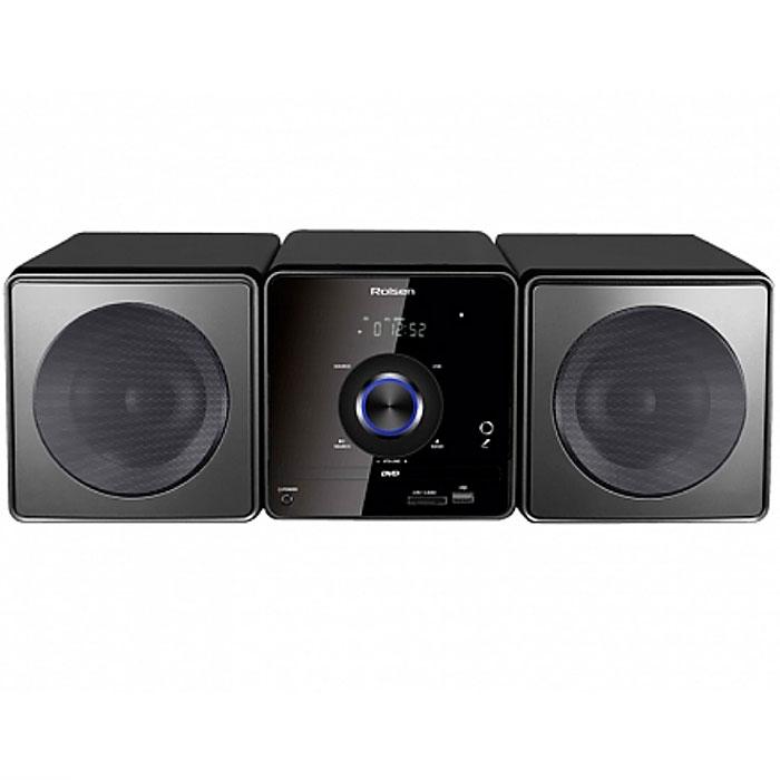 Rolsen RMD-500, Black микросистема DVD