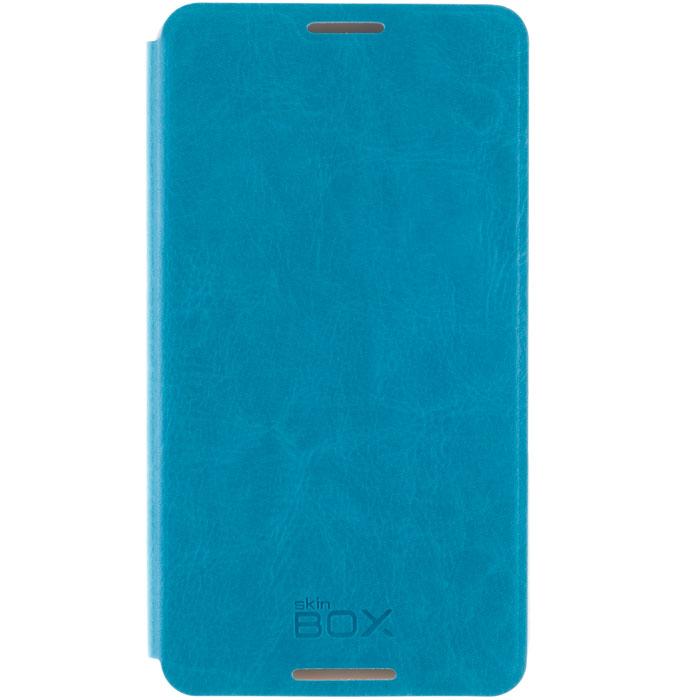 Skinbox Lux чехол для Sony Xperia E4, BlueT-S-AXE4-003Чехол Skinbox Lux для Sony Xperia E4 выполнен из высококачественного поликарбоната и экокожи. Он обеспечивает надежную защиту корпуса и экрана смартфона и надолго сохраняет его привлекательный внешний вид. Чехол также обеспечивает свободный доступ ко всем разъемам и клавишам устройства.