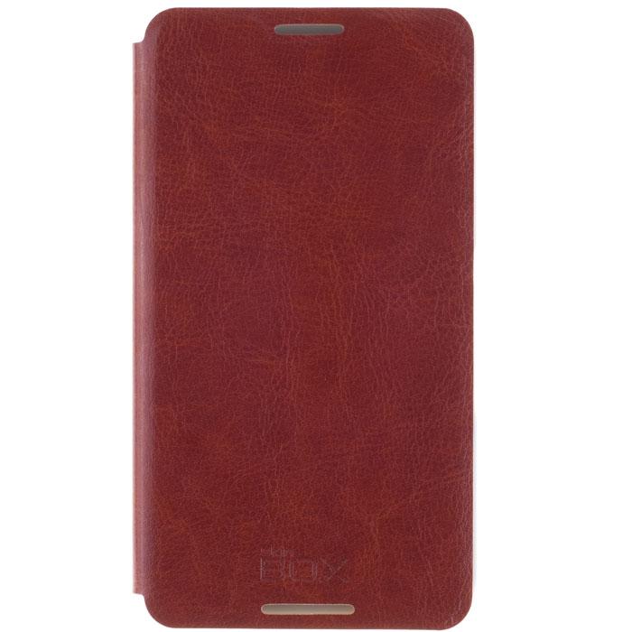 Skinbox Lux чехол для Sony Xperia E4, BrownT-S-AXE4-003Чехол Skinbox Lux для Sony Xperia E4 выполнен из высококачественного поликарбоната и экокожи. Он обеспечивает надежную защиту корпуса и экрана смартфона и надолго сохраняет его привлекательный внешний вид. Чехол также обеспечивает свободный доступ ко всем разъемам и клавишам устройства.