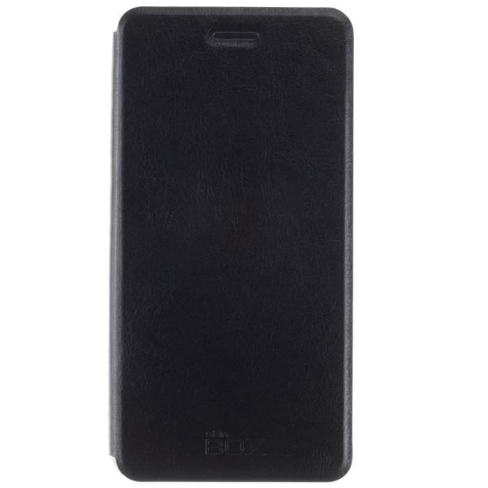 Skinbox Lux чехол для Xiaomi Mi Note, BlackT-S-XMiN-003Чехол Skinbox Lux для Meizu M1 Note выполнен из высококачественного поликарбоната и экокожи. Он обеспечивает надежную защиту корпуса и экрана смартфона и надолго сохраняет его привлекательный внешний вид. Чехол также обеспечивает свободный доступ ко всем разъемам и клавишам устройства.