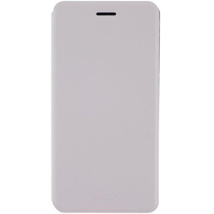 Skinbox Lux чехол для Xiaomi Mi Note, WhiteT-S-XMiN-003Чехол Skinbox Lux для Meizu M1 Note выполнен из высококачественного поликарбоната и экокожи. Он обеспечивает надежную защиту корпуса и экрана смартфона и надолго сохраняет его привлекательный внешний вид. Чехол также обеспечивает свободный доступ ко всем разъемам и клавишам устройства.