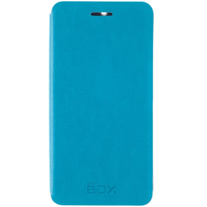 Skinbox Lux чехол для Xiaomi Redmi 2, BlueT-S-XP2-003Чехол Skinbox Lux для Xiaomi Redmi 2 выполнен из высококачественного поликарбоната и экокожи. Он обеспечивает надежную защиту корпуса и экрана смартфона и надолго сохраняет его привлекательный внешний вид. Чехол также обеспечивает свободный доступ ко всем разъемам и клавишам устройства.