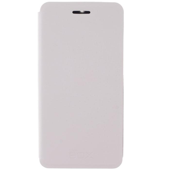 Skinbox Lux чехол для Xiaomi Redmi 2, WhiteT-S-XP2-003Чехол Skinbox Lux для Xiaomi Redmi 2 выполнен из высококачественного поликарбоната и экокожи. Он обеспечивает надежную защиту корпуса и экрана смартфона и надолго сохраняет его привлекательный внешний вид. Чехол также обеспечивает свободный доступ ко всем разъемам и клавишам устройства.