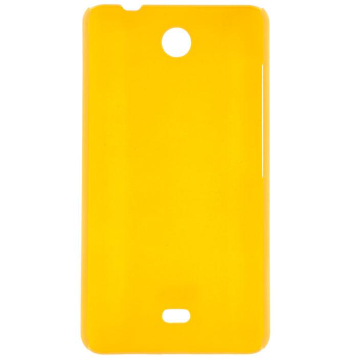 Skinbox Shield 4People чехол для Microsoft Lumia 430, YellowT-S-ML430-002Чехол Skinbox Shield 4People для Microsoft Lumia 430 предназначен для защиты корпуса смартфона от механических повреждений и царапин в процессе эксплуатации. Имеется свободный доступ ко всем разъемам и кнопкам устройства. В комплект также входит защитная пленка на экран телефона.