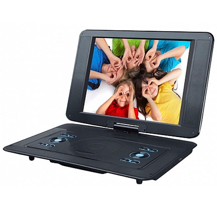 Rolsen RPD-15D07TBL, Black портативный DVD-плеер