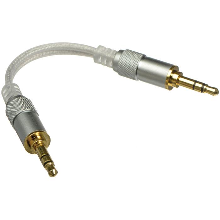Fiio L16 линейный кабель6953175731610Fiio L16 - линейный кабель длиной 5,5 см для межблочного соединения портативного оборудования. Кабель выполнен по многослойной схеме, где внутренний проводник сделан из pcocc-a меди OYAIDE. Для лучшей проводимости коннекторы позолочены. Может быть использован в стационарных аудиосистемах.