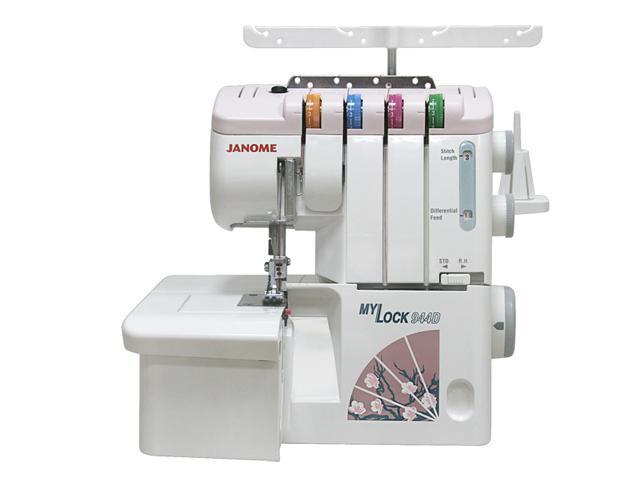 Janome ML944D оверлок4933621706371Janome MyLock 944D – это качественная обработка края изделия на любом виде ткани, будь то тончайший шелк и трикотаж или плотная джинса. Выполнение роликовых и подшивочных швов, а также украшение Вашего изделия плоским швом (FlatLock). Для облегчения заправки нити в нижний петлитель Janome MyLock 944D имеет встроенный помощник. Оверлок имеет оригинальный неповторимый дизайн в японском стиле. Janome MyLock 944D станет прекрасным дополнением к Вашей швейной машине