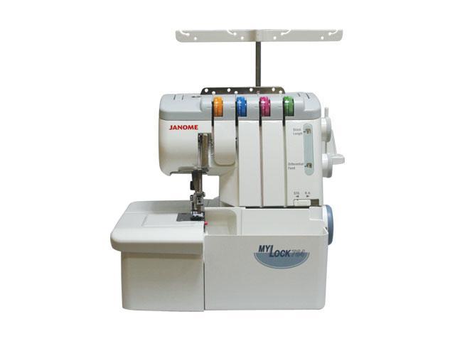 Janome ML784D оверлок4933621701994Функциональный оверлок, прост в управлении, имеет 7 видов швов: 4-х ниточный, 3-х ниточный узкий, 3-х ниточный широкий, 2-х ниточный широкий, 2-х ниточный узкий, роликовый шов, плоский шов (имитация). Выполненные на этой машине изделия по качеству не уступают выпущенным на промышленном оборудовании. Благодаря продуманной конструкции, нет необходимости менять игольную пластину при переходе на роликовый шов. На Janome My Lock 784 D Вы сможете работать с легкими и средними, тяжелыми и многослойными, эластичными и деликатными материалами, а благодаря встроенной регулировке усилия прижима лапки и дифференциальной подаче ткани добиться наилучшего качества обработки проще простого. Легкая заправка нити Легкая заправка нити: нитенаправители маркированы различными цветами. С уникальной системой облегченной заправки даже левый петлитель можно заправить нитью быстро и легко. Рукавная платформа Удобная узкая рукавная платформа для обработки трубчатых...