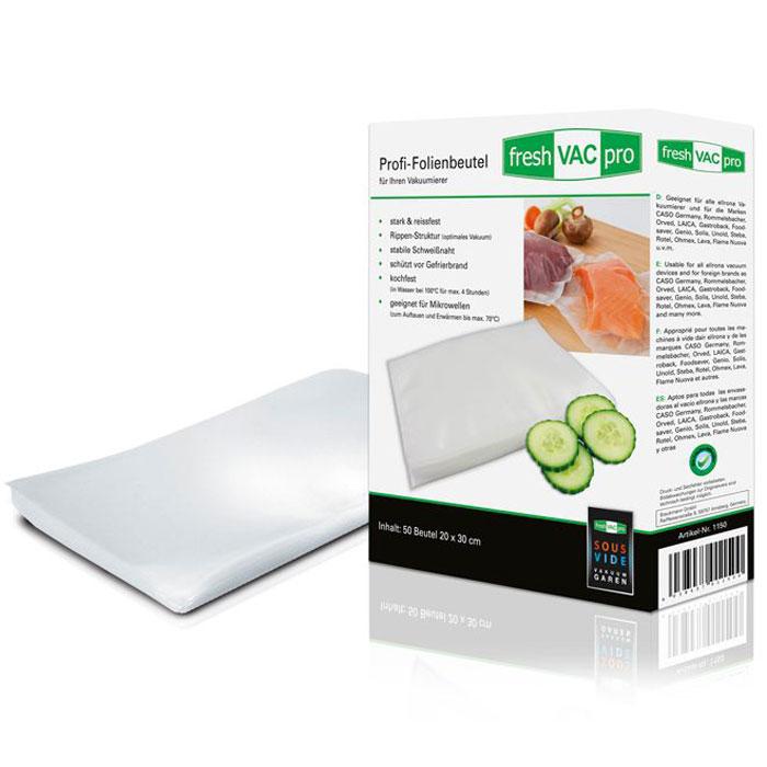 Ellrona FreshVACpro 20х30 пакеты для вакуумного упаковщика, 50 шт. ( FreshVACpro 20*30 )