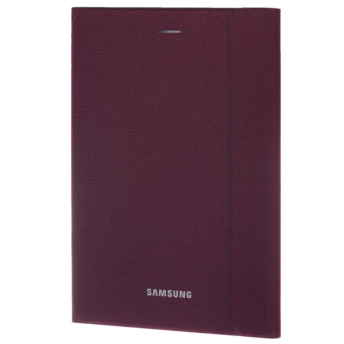 Samsung EF-BT350B BookCover чехол для Galaxy Tab A 8, VinousEF-BT350BQEGRUSamsung EF-BT350B BookCover - стильный и надежный аксессуар, позволяющий сохранить устройство в идеальном состоянии. Надежно удерживая технику, чехол защищает корпус и дисплей от появления царапин, налипания пыли. Имеется свободный доступ ко всем разъемам устройства.