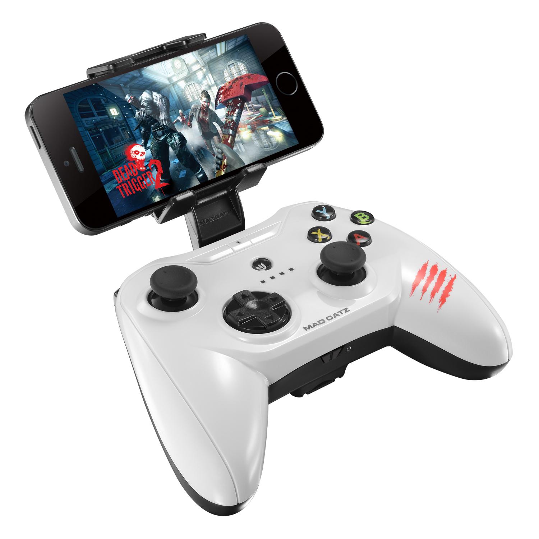 Mad Catz C.T.R.L.i, Gloss White беспроводной геймпад для iPhone и iPad