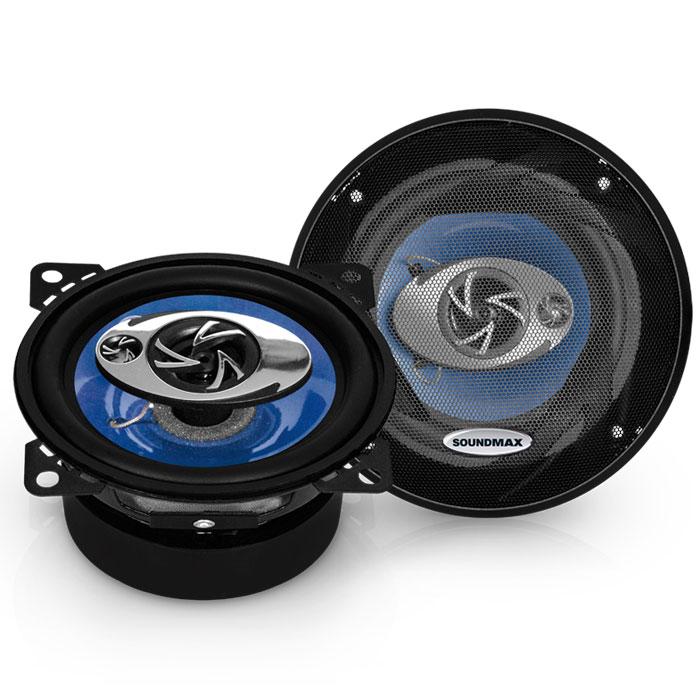Автоакустика Soundmax SM-CSE503 коаксиальная 3-полосная 13см 60Вт-120Вт