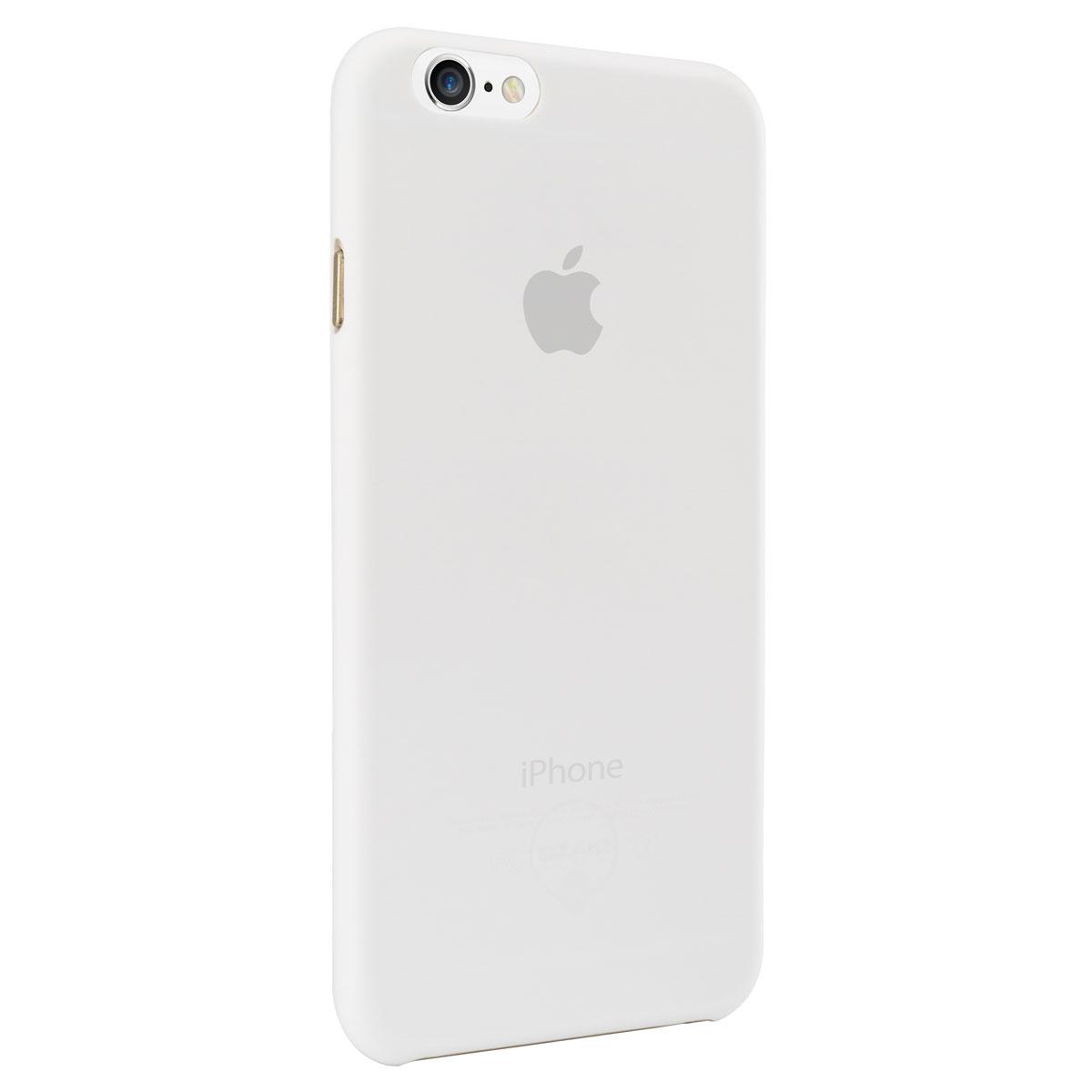 Ozaki O!coat 0.4 Jelly Сase чехол для iPhone 6 Plus, TransparentOC580TRУльтратонкий чехол Ozaki O!coat 0.4 Jelly Сase чехол для iPhone 6 Plus предназначен для защиты корпуса смартфона от механических повреждений и царапин в процессе эксплуатации. Имеется свободный доступ ко всем разъемам и кнопкам устройства. Толщина чехла составляет 0,43 мм. В комплект также входит защитная пленка на экран устройства.