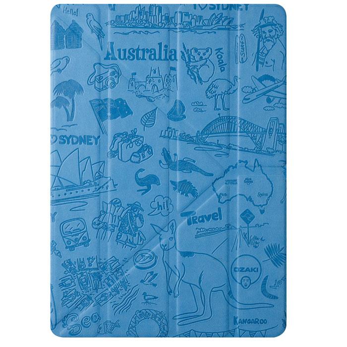 Ozaki O!coat Travel Case чехол для iPad Air, SydneyOC111SYЧехол Ozaki O!coat Travel для iPad Air надежно защищает планшет от пыли, царапин, сколов и повреждений, оставляя доступными все органы управления и разъемы для подключений. Выполнен из пропитанного водоотталкивающего текстильного материала. Чехол Ozaki O!coat Travel поддерживает функцию Smart Case и имеет встроенные магниты - ваш планшет автоматически переходит в спящее состояние при закрытии крышки чехла. Также чехол превращается в удобную подставку с большим количеством углов обзора и помогает настроить iPad для просмотра видео или видеозвонков.