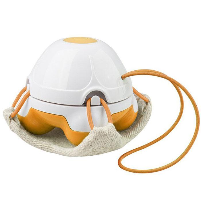 Массажер-мочалка ручной Medisana HM 840, цвет: оранжевый, белый