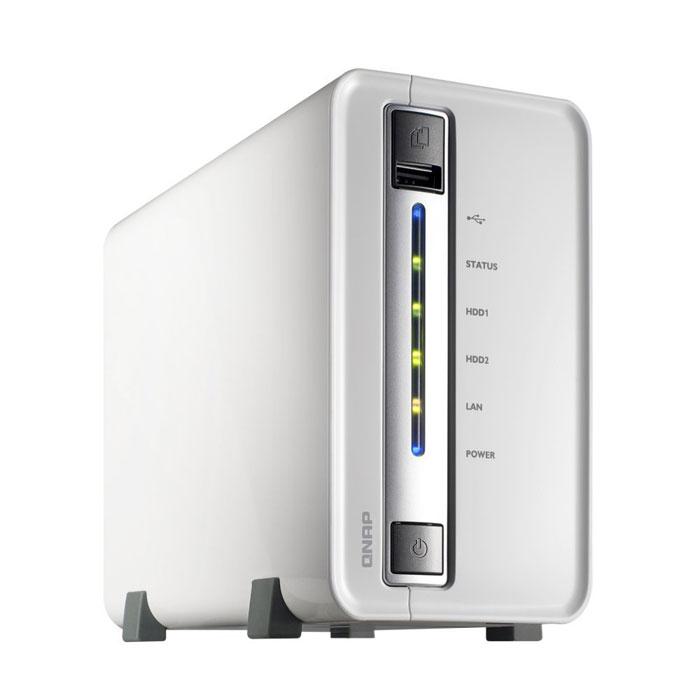 QNAP TS-212P сетевой RAID-накопитель