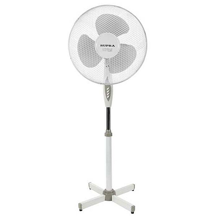 Supra MVF-1611, White Grey напольный вентилятор
