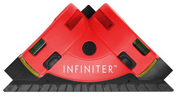 Лазерный нивелир INFINITER SQ1-2-058Infiniter SQ разработан специально для работ по отделке пола и стен плиткой, ламинатом, паркетной доской и т.д. Его угловая конструкция позволяет формировать направляющие линии для горизонтальной или диагональной укладки плитки. Два лазерных луча, расходясь, образуют угол 90°. Точка вершины этого угла отмечена не только пересечением лазеров, но и выступающим основанием прибора. По бокам нивелира – на обоих «катетах» его треугольного корпуса – расположены встроенные пузырьковые уровни, которые помогут выровнять прибор. Третья сторона SQ оснащена транспортиром с шагом делений 5 градусов. При проведении отделочных работ транспортир может пригодиться для определения или, наоборот, построения углов, а будучи встроенным в нивелир, он всегда будет под рукой. Infiniter SQ прекрасно справится с задачей лазерного уровня. Его можно крепить на стену и строить вертикальные и горизонтальные плоскости. Это выгодно отличает его от простых лазерных уровней с одной плоскостью. Конструкторы...