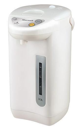 Maxwell MW-1754(W) термопотMW-1754(W)Термопоты сегодня – это не просто модные приборы для кухни. Это практичная техника, которая способна заменить любой современный электрический чайник. Они совмещают в себе функции чайника и термоса, за счет чего особенно популярны в офисных помещениях, где горячая вода необходима постоянно Для того чтобы пить горячий чай или кофе на протяжении всего дня, вам больше не потребуется пользоваться чайником, включая его ежечасно. Достаточно приобрести вместительный термопот торговой марки Maxwell! Эта техника удобна в использовании, как на работе, так и дома. Она характеризуется большим объемом резервуара для воды – до 6 литров, наличием функции поддержания температуры, удобной и безопасной системой налива кипятка. Включаются термопоты нажатием одной кнопки, при этом степень нагрева воды вы можете отрегулировать самостоятельно, выбрав один из нескольких предлагаемых температурных режимов. Приборы автоматически отключаются, когда вода нагревается до нужной...