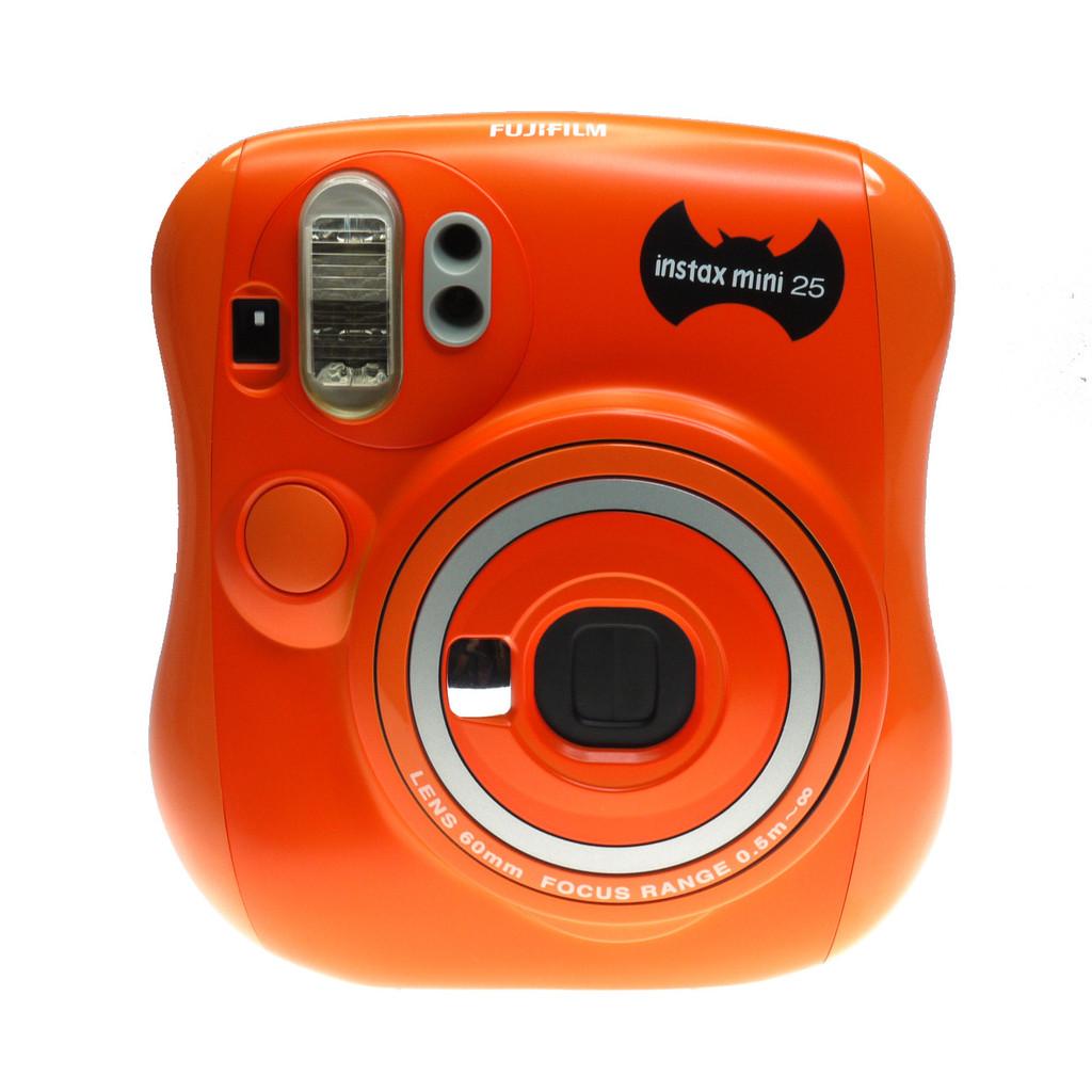 Fujifilm Instax Mini 25 Halloween, Orange фотоаппарат моментальной печати ( 16267569 )