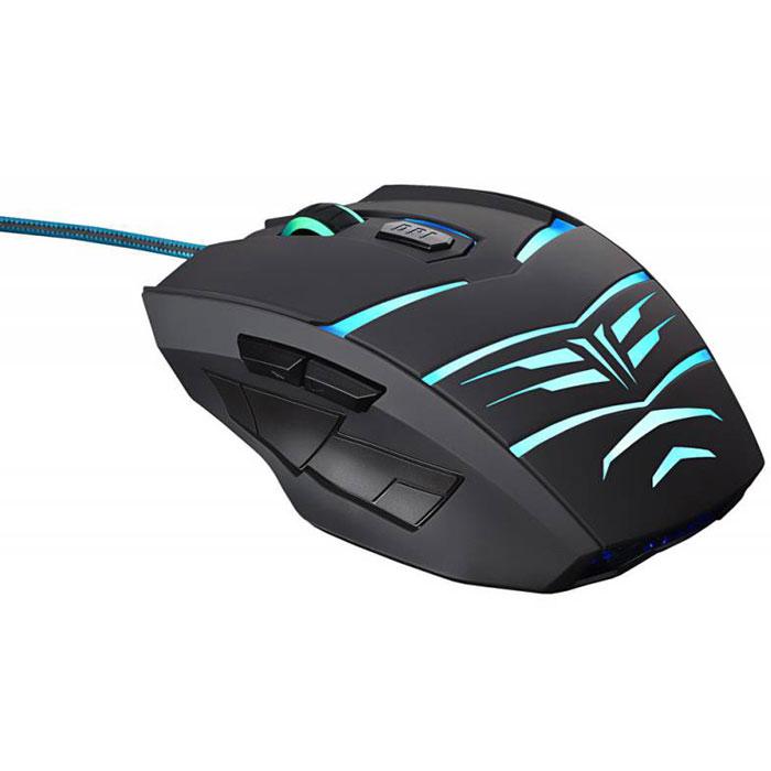 Oklick 745G Legacy, Black Blue игровая мышь