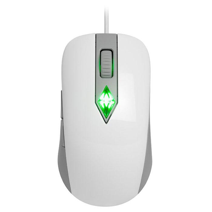 SteelSeries SIMS 4, White Grey игровая мышь62281Игровая мышь SteelSeries SIMS 4 позволит играть и управлять The Sims. Подсветка помогает ощущать эмоции вашего персонажа в игре наяву - она будет пульсировать различными цветами в такт настроению вашего Сима! Мышка предназначена специально для игры Sims 4.