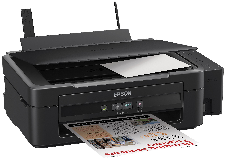 Epson L210 МФУC11CC59302Принтер-сканер-копир с рекордно низкой себестоимостью печати Epson L210 - это компактное 4-х цветное МФУ с большими емкостями для чернил объемом по 70 мл, специально созданное для тех, кому необходима экономичная цветная печать. Высокий ресурс расходных материалов Расходными материалами к 4-х цветным устройствам серии Фабрика печати Epson служат контейнеры с чернилами высоким ресурсом. Так, трех контейнеров с голубыми, пурпурными и желтыми чернилами хватит на печать 6500 цветных документов А4. А одного контейнера с черными чернилами хватит на печать 4000 ч/б документов А4. Высокое качество печати и надежность Благодаря уникальной технологии печати Epson Micro Piezo и точному контролю давления в емкостях с чернилами вы всегда получаете отпечатки превосходного качества. Специально разработанные материалы, на основе которых изготовлены компоненты устройства, обеспечивают долгий срок службы принтера и работу без поломок. Удобство...