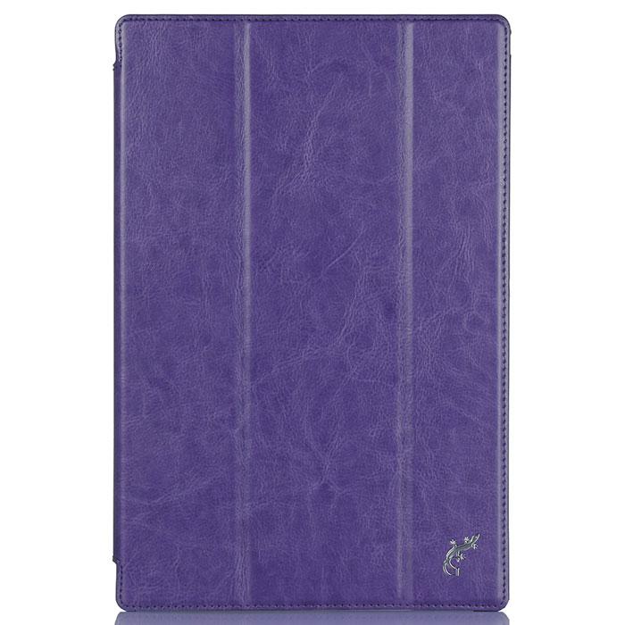 G-Case Slim Premium чехол для Sony Xperia Tablet Z4, PurpleGG-596Обладатели планшетов знают, как важно беречь устройство от негативных внешних и прочих механических воздействий. В противном случае можно довольно быстро расстаться с дорогостоящим гаджетом. Во избежание неприятных сюрпризов достаточно купить чехол G-Case Slim Premium для Sony Xperia Tablet Z4, чтобы наслаждаться своим смартфоном дома, на досуге или в дороге. Чехол тщательно продуман разработчиками для обеспечения максимальной защиты электронного устройства от пыли, влаги, грязи, ударов, падений, царапин и потертостей.