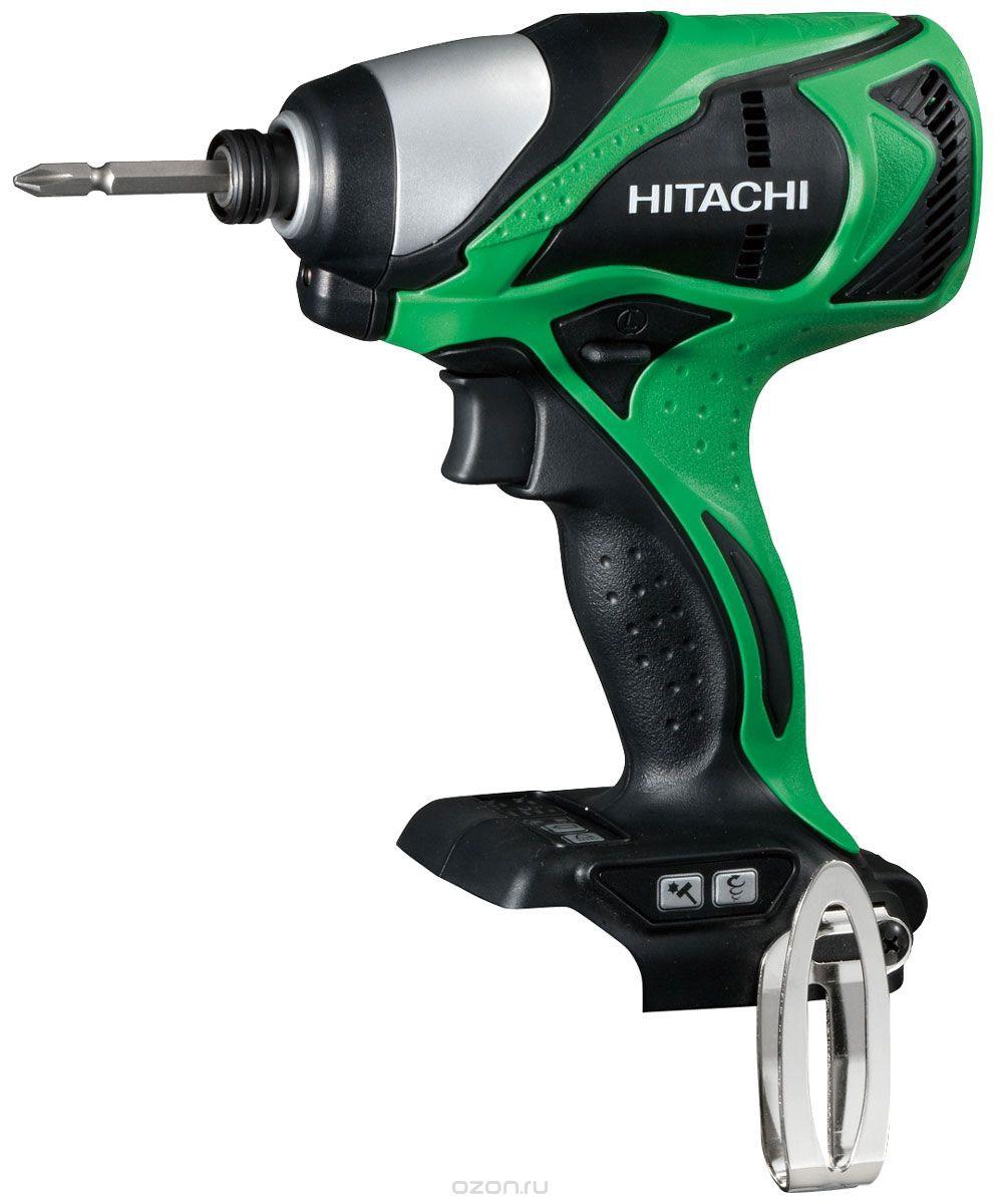 Hitachi WH14DBDL аккумуляторный ударный шуруповерт (без аккумулятора)WH14DBDL аккумуляторный ударный шуруповерт