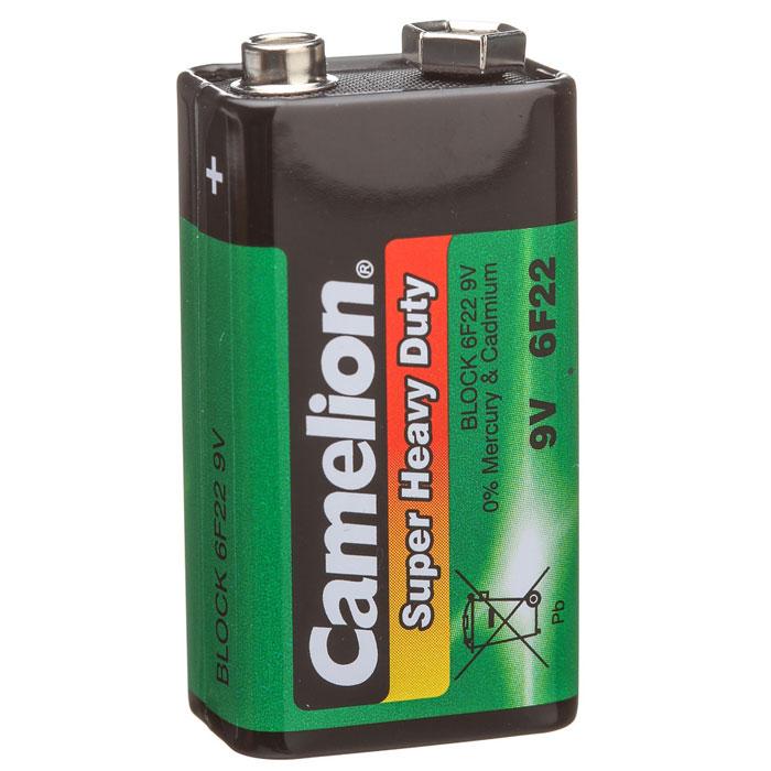 Camelion 6F22 SR-1 (6F22P-SP1G) батарейка, 9В1663Углеродно-цинковая (солевая) батарейка Camelion 6F22 SR-1 типа Крона обладает современной системой экономии, прослужит долгое время.