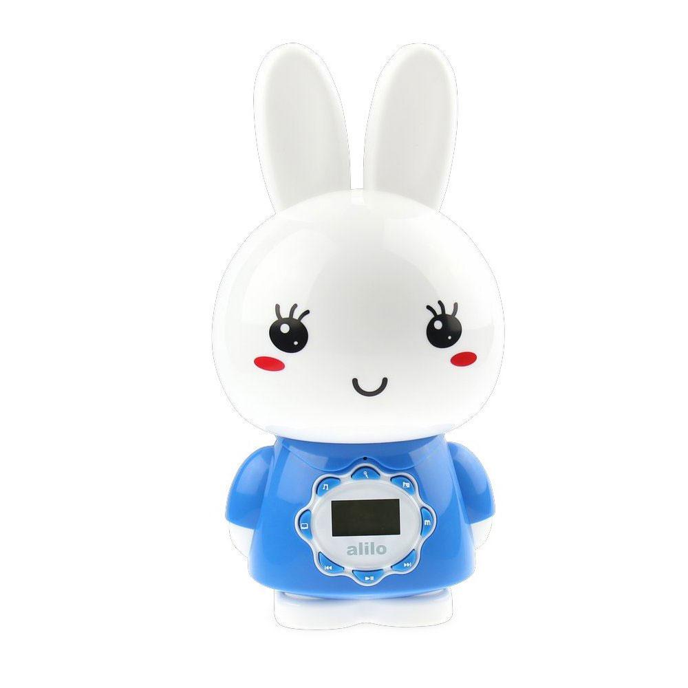 Alilo Музыкальная игрушка-ночник Большой зайка цвет синий