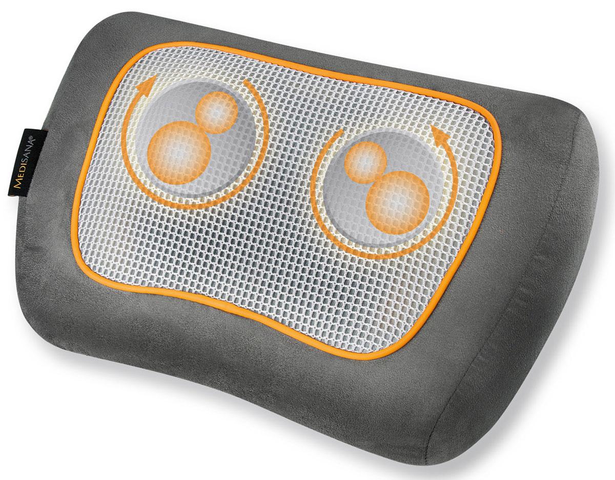 Medisana Подушка массажная шиатцу MPF00000736Массажная подушка шиатцу Medisana MPF поможет провести полноценный релаксирующий или лечебный массаж прямо в домашних условиях. Специальная конструкция позволяет проводить локальный массаж практически на все области тела, например, спины, шеи, плеча, бедер, голени. В отличие от массажных накидок массажная подушка Medisana MPF имеет более привлекательную цену и экономит место помещение. Устройство позволяет проводить физиотерапевтические сеансы самостоятельно, не прибегая к посторонней помощи. Medisana MPF идеально подходит тем людям, кто часто нуждается в услугах массажиста, но не может часто их посещать. Массажная подушка эффективна при лечении невралгических воспалений и защемлений нервов. Она осуществляет расслабляющий шиатсу массаж с помощью 4-х вращающихся массажных головки и усиливает его функцией обогрева. Это хороший способ расслабления, релаксации и отдыха после тяжелого дня. Подушка Medisana MPF - многофункциональное физиотерапевтическое средство. С...