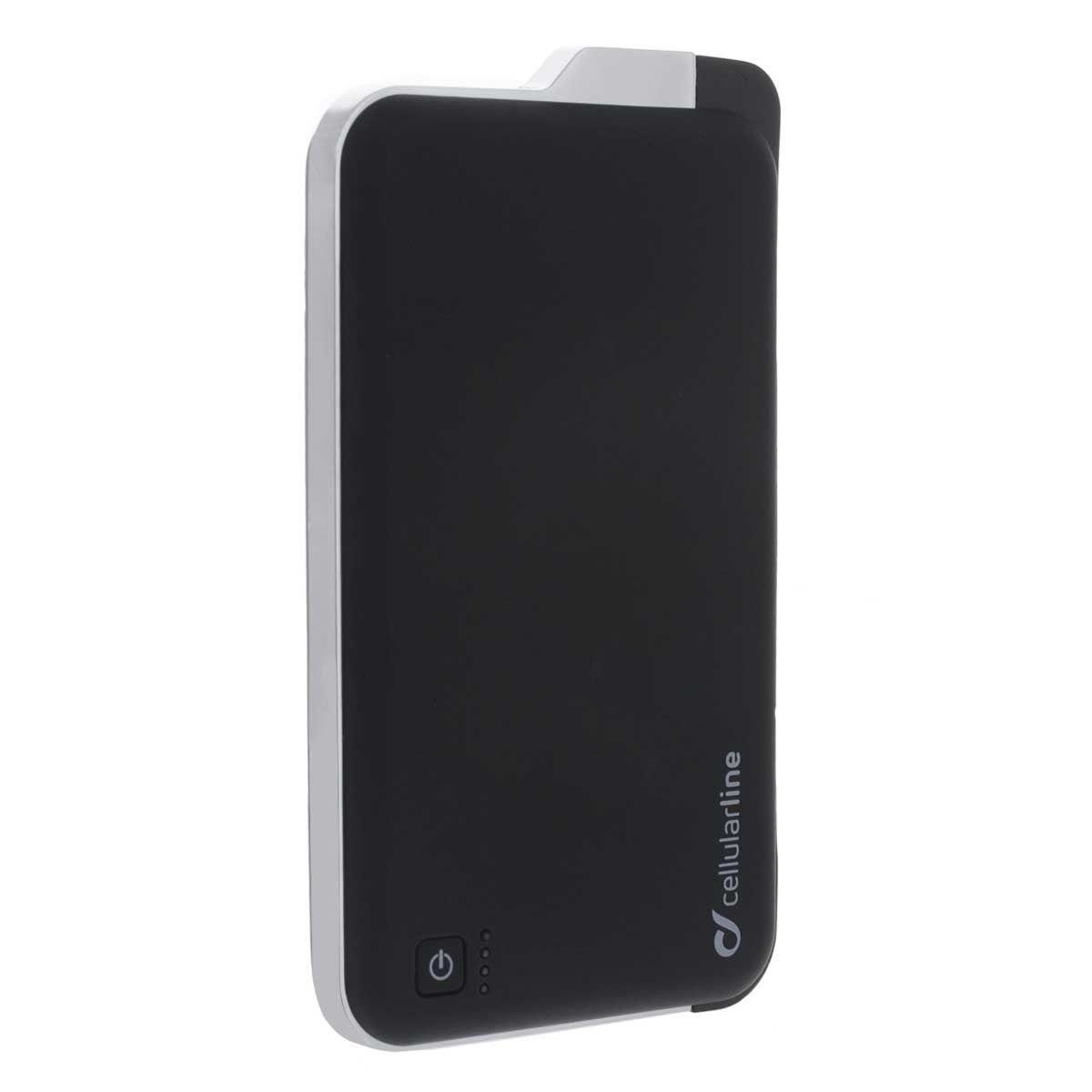 Cellular Line Freepower Slim micro USB, Black внешний аккумуляторFREEP5000MICROUSBKCellular Line Freepower Slim micro USB - надежный и емкий внешний аккумулятор для мобильных устройств, в том числе всех современных смартфонов и планшетов от Apple. Устройство заключено в стильный матовый корпус и имеет целых два разъема USB, а также коннектор microUSB для зарядки ваших девайсов.