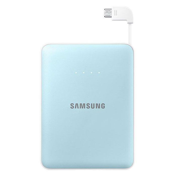Samsung EB-PG850B, Blue внешний аккумуляторEB-PG850BLRGRUSamsung EB-PG850BCRGRU Pink Fox - это не просто внешний аккумулятор, но и самое настоящее украшение вашей сумки, а также забота о природе и вымирающих животных. Часть доходов от продажи этого устройства производитель направляет на сохранение вымирающих видов. Используемая в этой модели батарея обладает высокой емкостью 8400 мАч, чего достаточно для зарядки нескольких устройств. Причем делать вы можете это даже одновременно: Samsung EB-PG850B поддерживает параллельное подключение двух заряжаемых гаджетов, 5-уровневый индикатор показывает степень разряженности аккумулятора. Проверить состояние устройства можно одним нажатием клавиши. Аккумуляторные элементы Samsung SDI, используемые в этой модели, прошли тщательные испытания под контролем технических специалистов Samsung. Поэтому вы можете не волноваться о надежности устройства